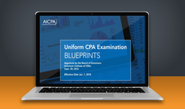 AICPA blueprint