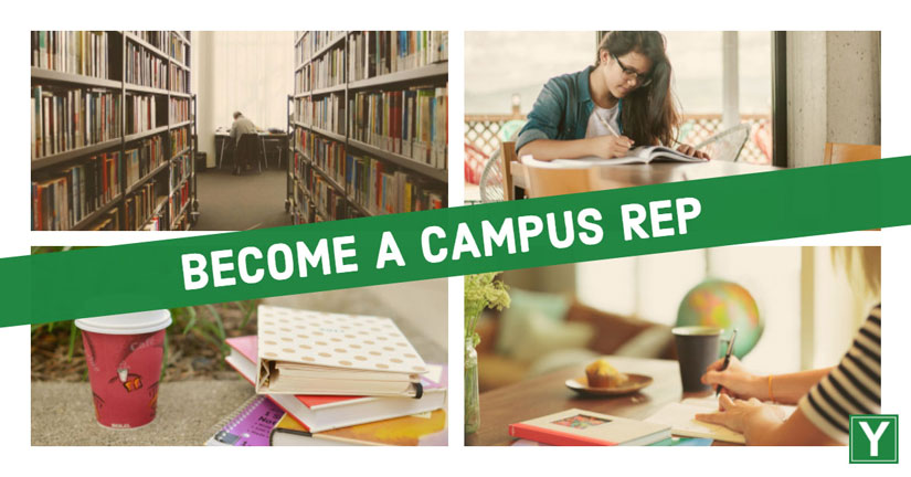 Why become a Campus Rep?